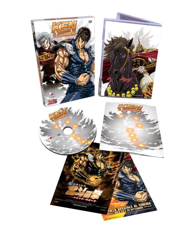 Il DVD di Ken il Guerriero - La leggenda di Hokuto