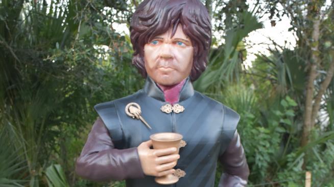 Tyrion realizzato da una stampante 3D
