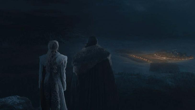 GoT 8x03: GoT 8x03: Jon e Daenerys osservano Grande Inverno