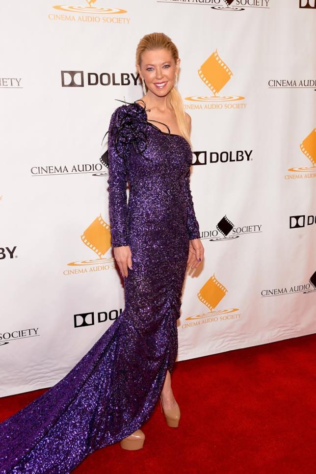 Tara Reid al 55th Annual Cinema Audio Society Awards