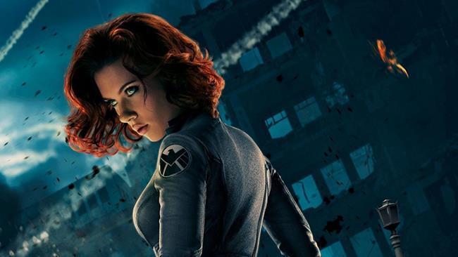 Scarlett Johansson è la Vedova Nera