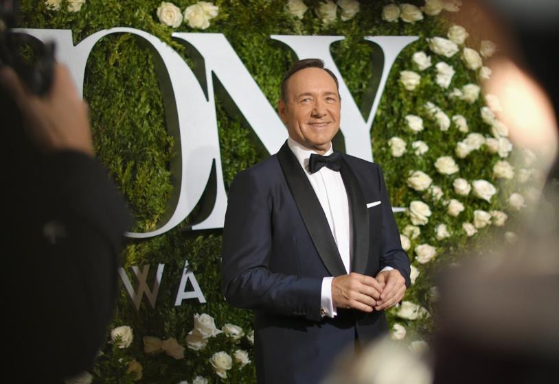 Kevin Spacey ai Tony Awards nel 2017