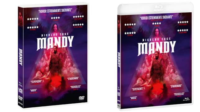Mandy - Home Video - DVD e Blu-ray
