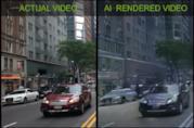 La realtà ricreata dalla IA di Nvidia