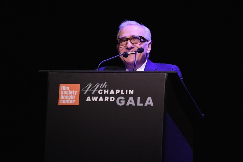 Il regista Martin Scorsese
