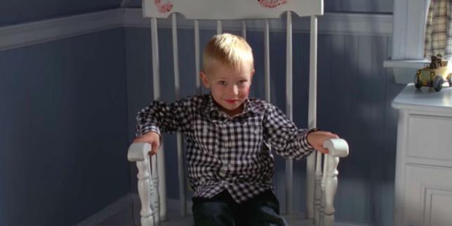 Il piccolo Michael Langdon