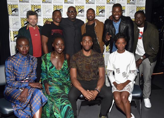 Gli attori protagonisti di Black Panther al SDCC 2017