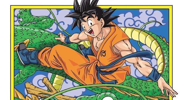 La copertina di Dragon Ball Super