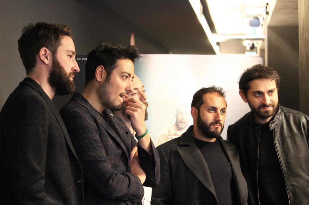 I The Jackal rispondono alle domande dei giornalisti a Milano