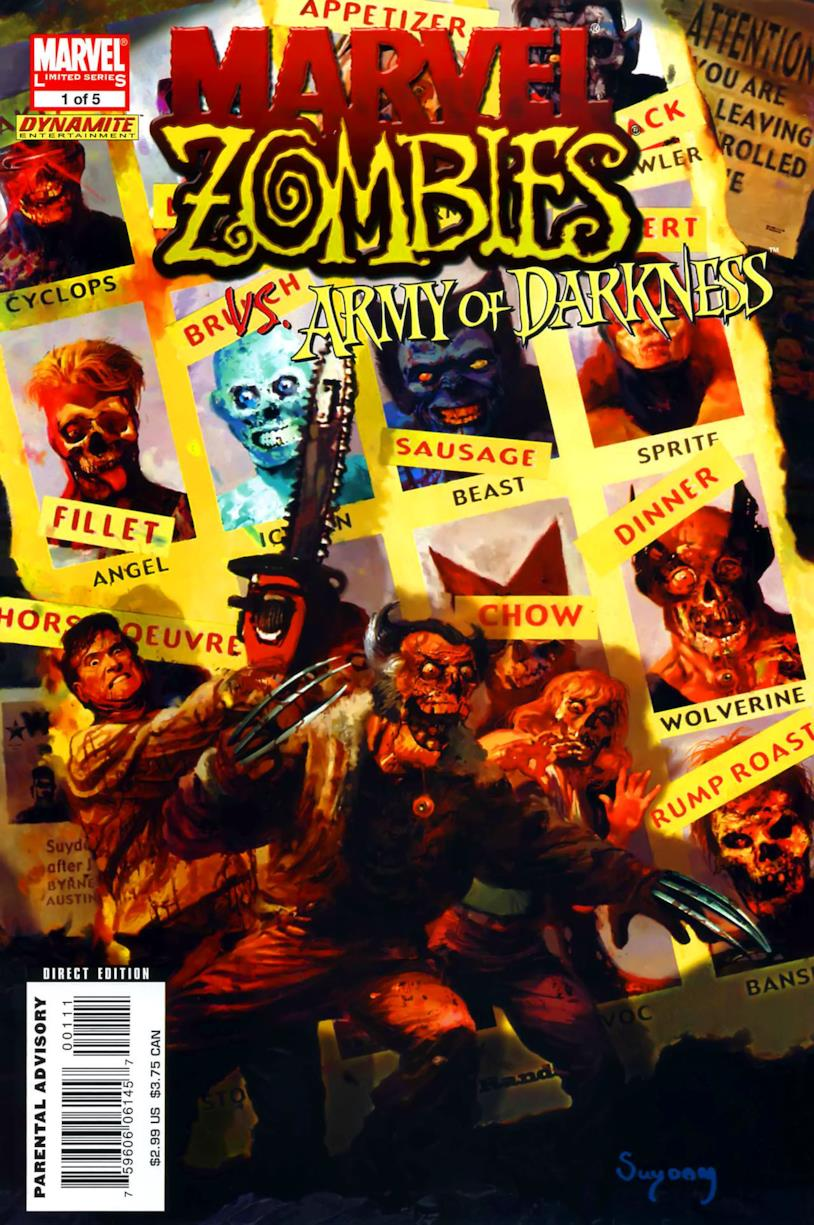 Immagine di Marvel Zombies vs Army of Darkness