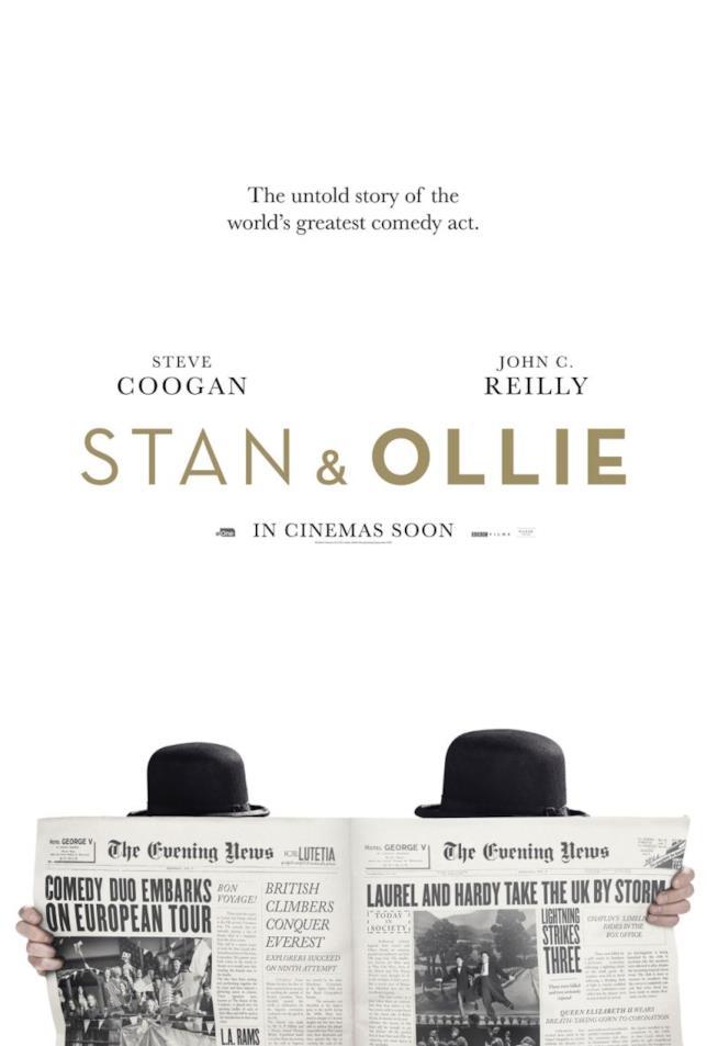 Biopic su Stanlio e Ollio, poster