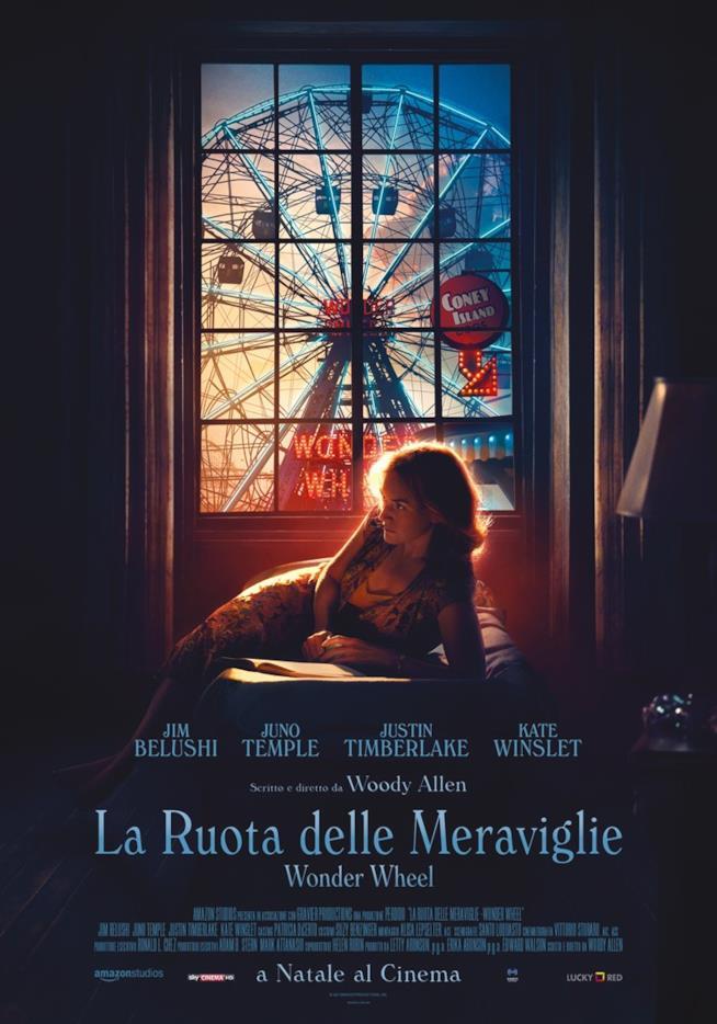 Poster italiano de La ruota delle meraviglie