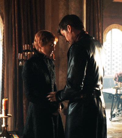 Jaime bacia Cersei