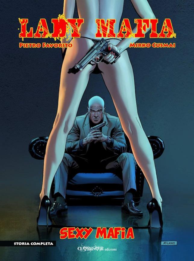 La copertina della nuova graphic novel Sexy Mafia