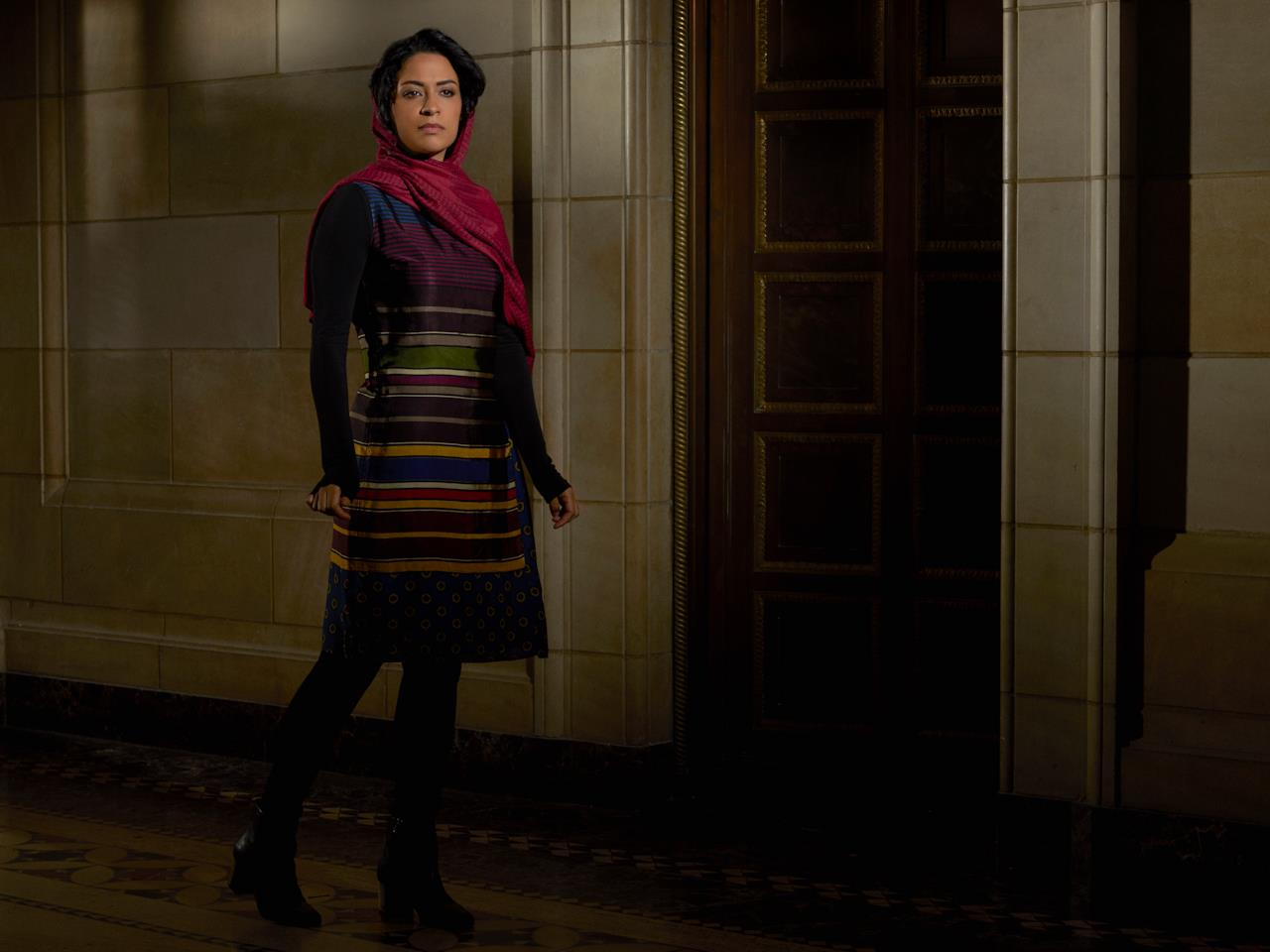 Yasmine Al Massri interpreta Nimah Amin nella serie TV Quantico