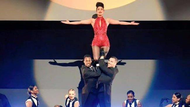 Priyanka Chopra ai TV Upfront 2016
