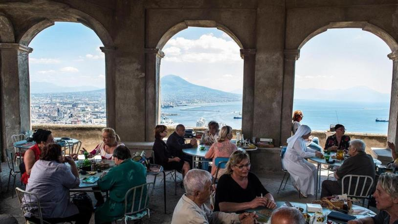 Una scena di Napoli Velata