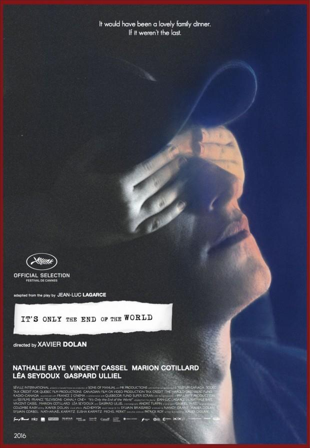 Xavier Dolan torna sulla Croisette con It's Only The End Of The World