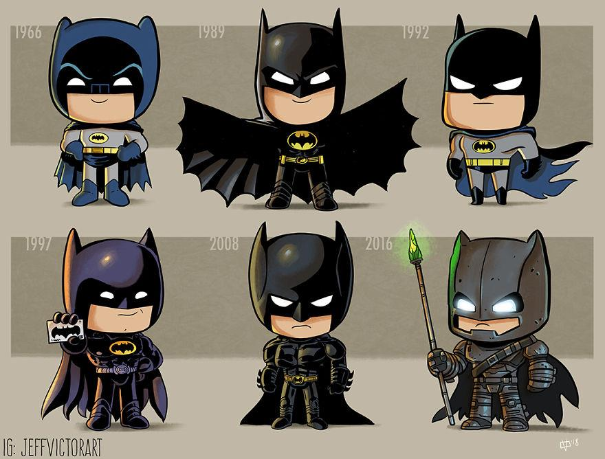 L'evoluzione delle icone della cultura pop: Batman