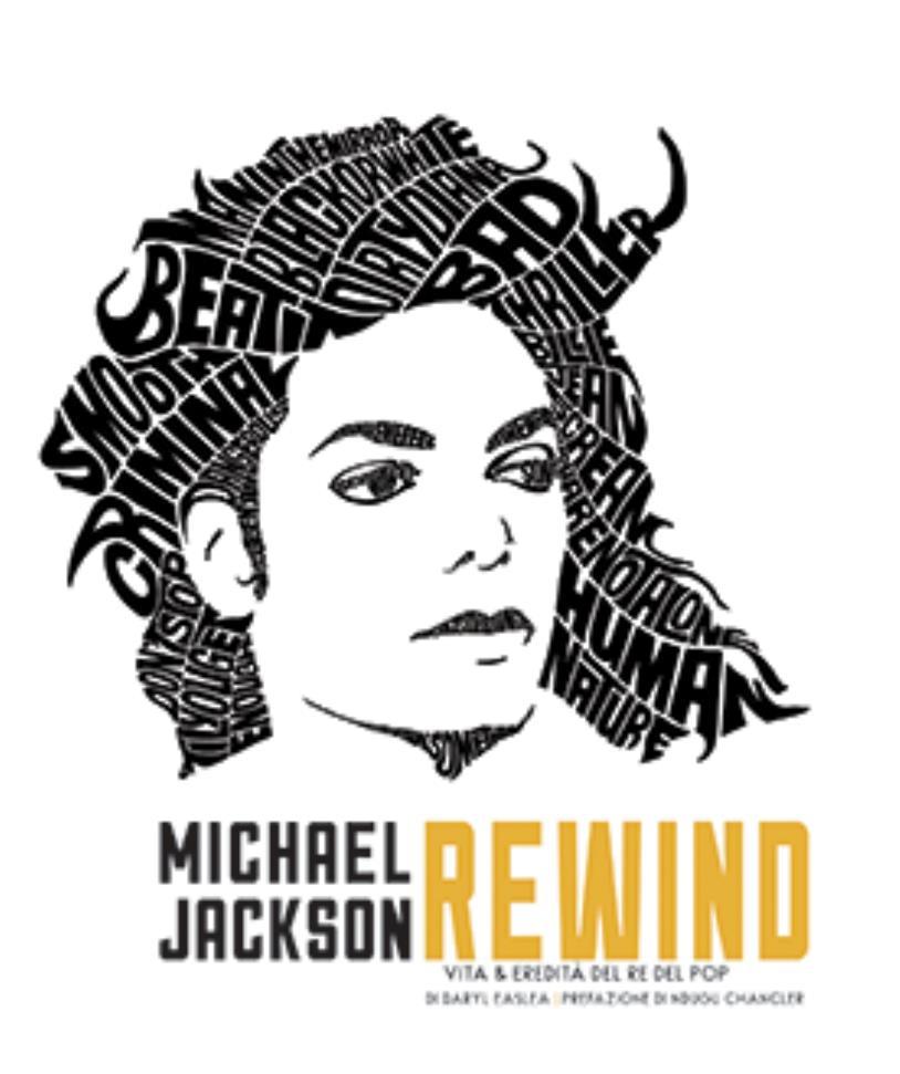 La cover del libro Michael Jackson Rewind. Vita ed eredità del Re del pop