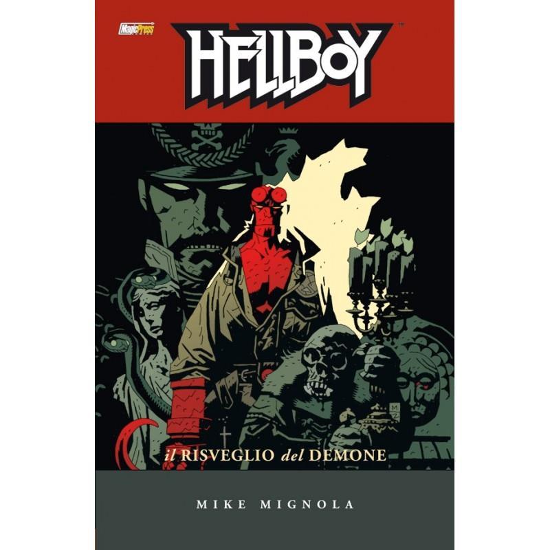 Hellboy nella cover dell'albo Il Risveglio del Demone
