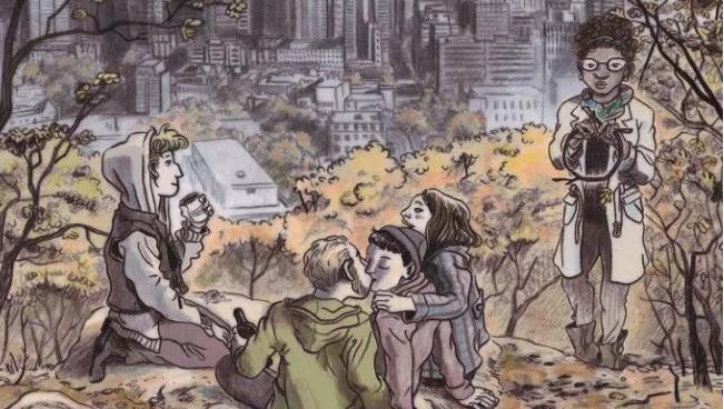 La cover della nuova graphic novel di Julie Maroh