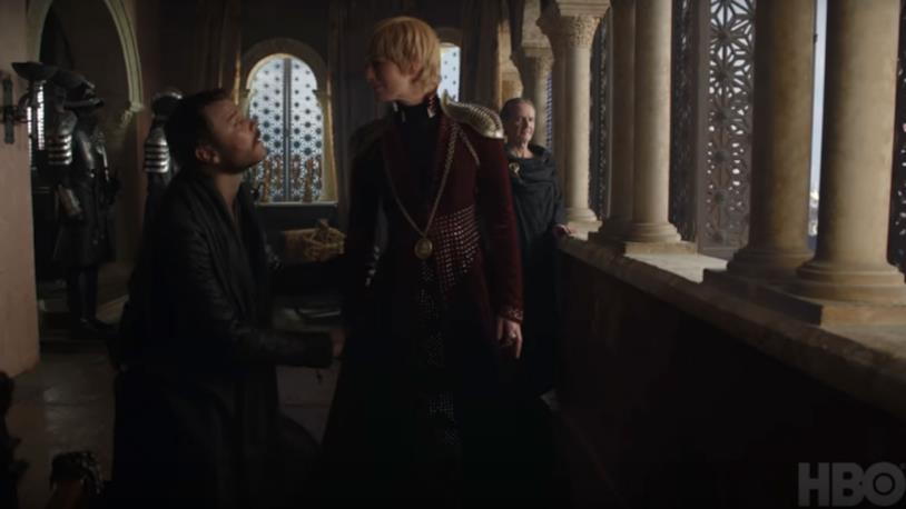 GoT 8x04: Cersei ed Euron ad Approdo del Re