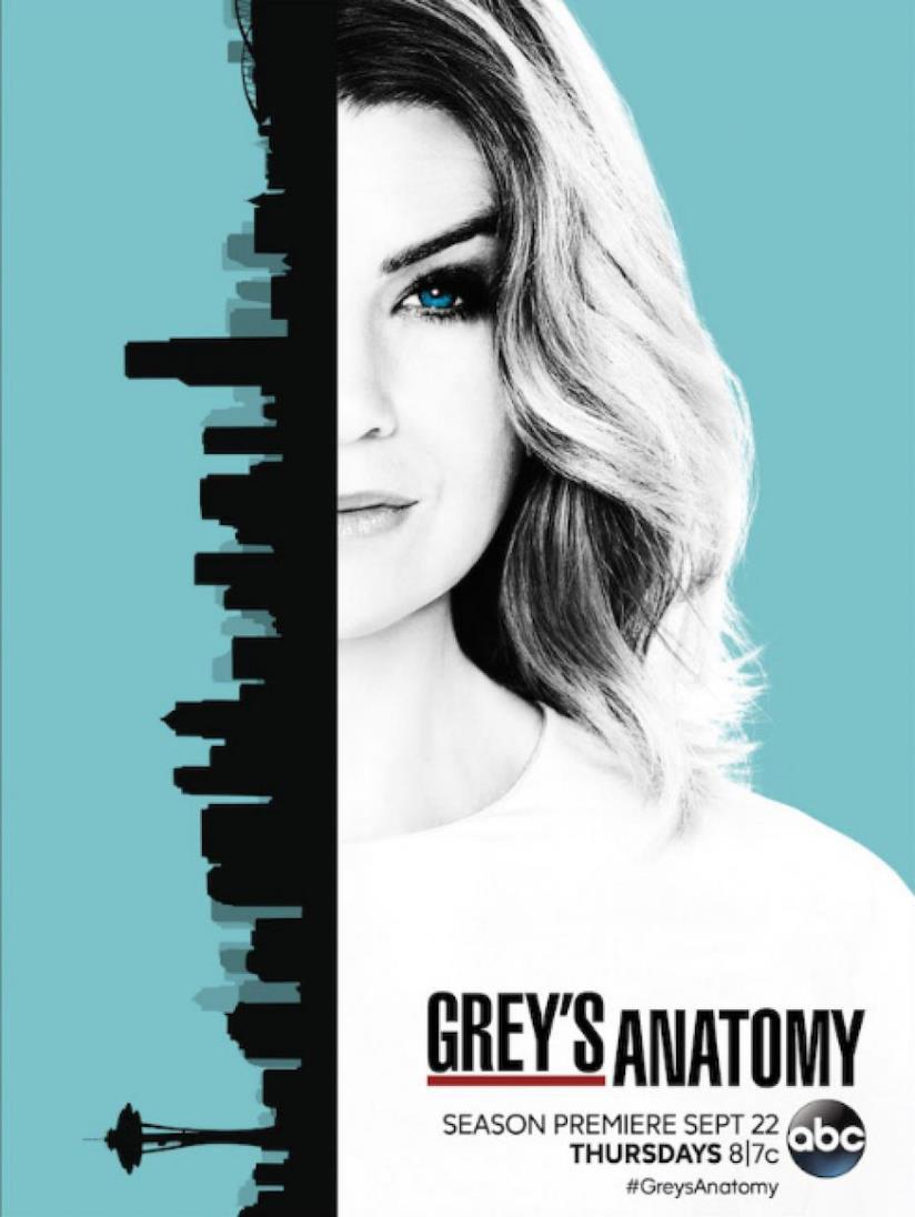 Grey's Anatomy 13, Meredith protagonista del poster
