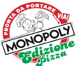 Il logo di Monopoly Pizza