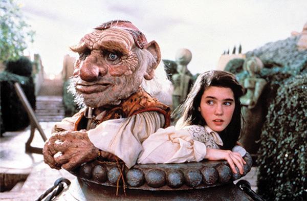 Gil troll Gogol e Sarah in un'immagine del fantasy Labyrinth