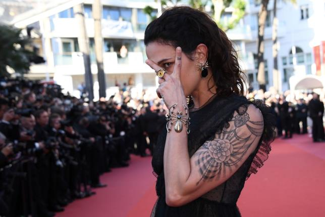Asia Argento a Cannes