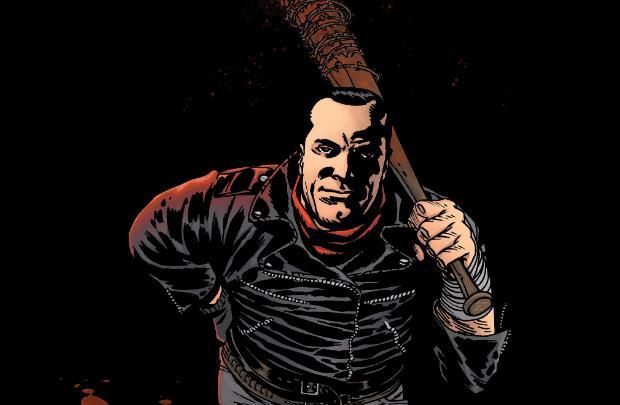 Negan nel fumetto di The Walking Dead