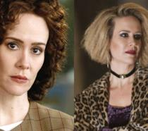 Sarah Paulson in American Crime Story e American Horror Story