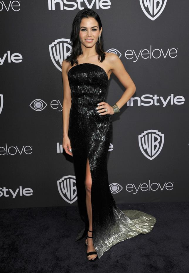 Un'immagine di Jenna Dewan Tatum con un abito che valorizza il suo corpo mozzafiato
