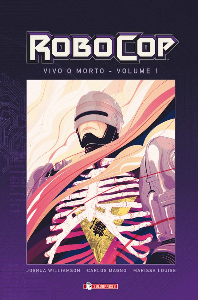 Cover del volume RoboCop #1: Vivo o morto