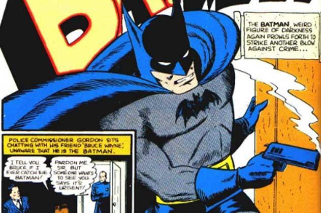 recenti fumetti di Batman