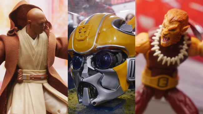 Le principali novità presenti allo stand Hasbro