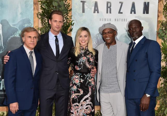 ll cast di The Legend of Tarzan alla première