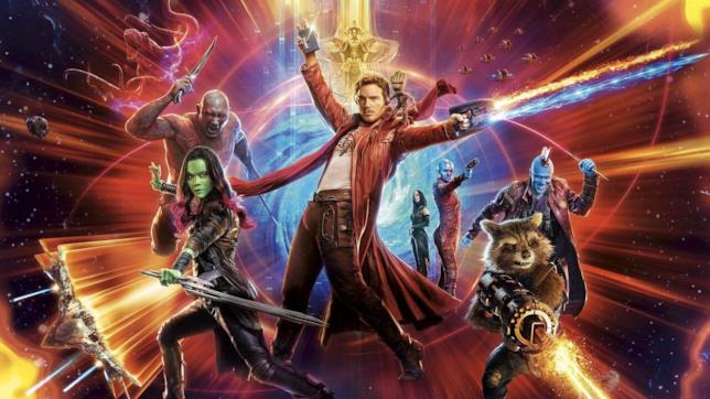 Il poster di Guardiani della Galassia Vol.2