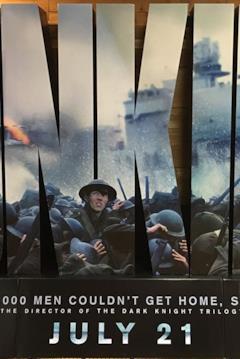 Poster promozionale di Dunkirk