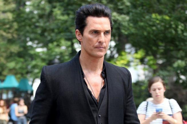 L'attore Matthew McConaughey ne La Torre Nera