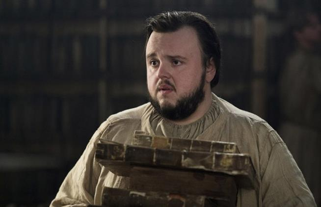 Sam Tarly in Game of Thrones 7