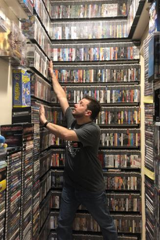 L'americano Monteiro e la sua collezione di videogiochi