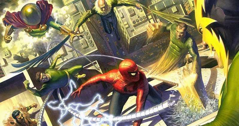Spider-Man affronta i Sinistri Sei