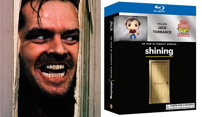 Packshot di Shining con Jack Torrance