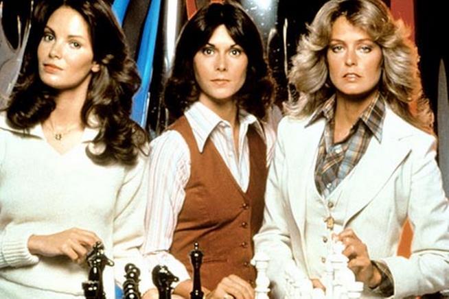 Il cast della prima stagione di Charlie's Angels