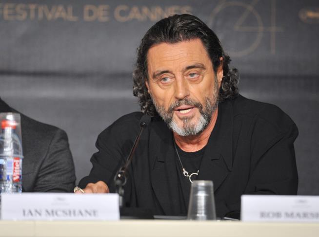 L'attore Ian McShane