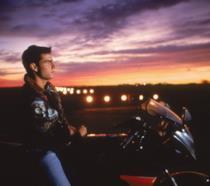 Tom Cruise nel film Top Gun