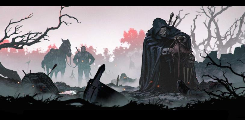 Artwork della collezione The Witcher 3 Art