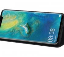 Huawei Mate 20 Pro nella cover PU Wallet